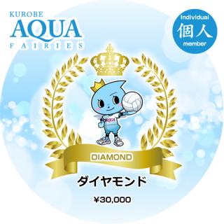 2018/19 Season ダイヤモンド会員(個人)