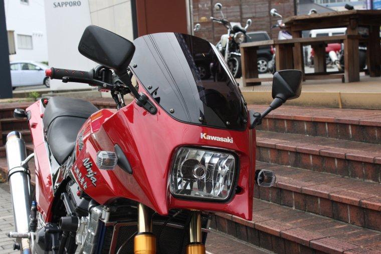 Kawasaki GPZ900Rスモークスクリーン
