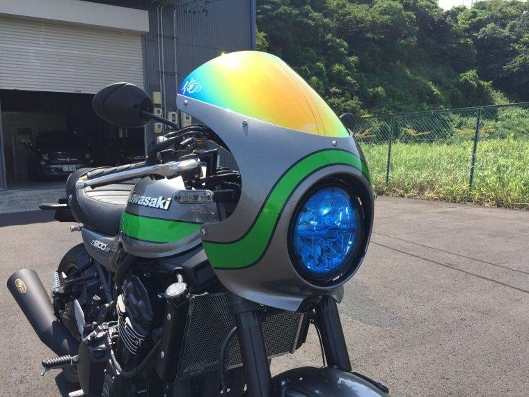 Kawasaki Z900RS&Z900RS CAFE ライトシールドブルー
