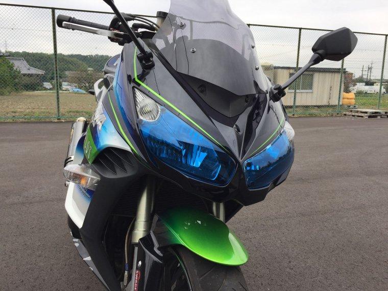 Kawasaki 11-16Ninja1000 ライトシールドブルー