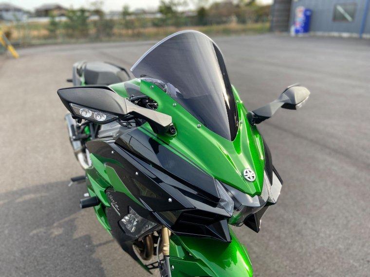 Kawasaki 18-20 H2SX スモークスクリーン