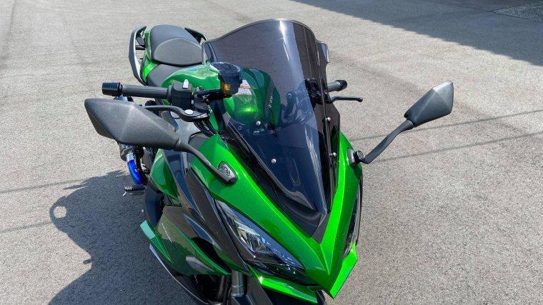 Kawasaki Ninja1000SX スモークスクリーン