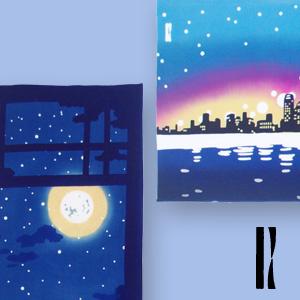【時感】弄月夜