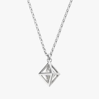 K18WG/1.0ctダイヤモンド原石/ネックレス RAW DIAMOND necklace