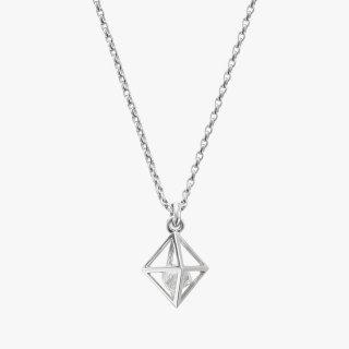 K18WG/0.5ctダイヤモンド原石/ネックレス RAW DIAMOND necklace