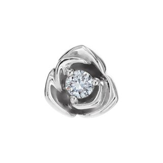 K18WG/ダイヤモンド/ピアス/BOUTONIERE piece