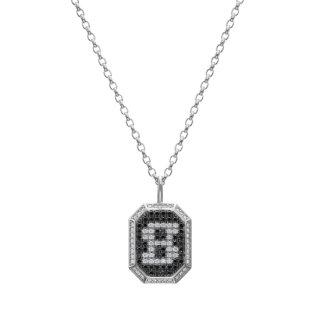 K18WG/ダイヤモンド/ブラックダイヤ/ペンダントトップ/ID COLLECTION