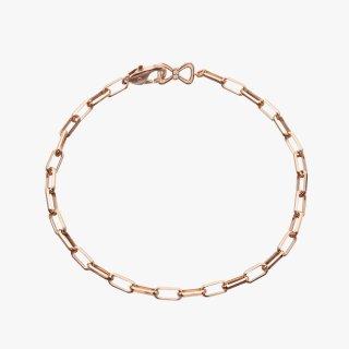 【LEON掲載】K18PG/ダイヤモンド/ブレスレット BOW TIE bracelet