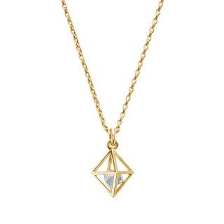 【HOLIDAY COLLECTION 2020】 K18YG/0.5ctダイヤモンド原石/ペンダントトップ/RAW DIAMOND