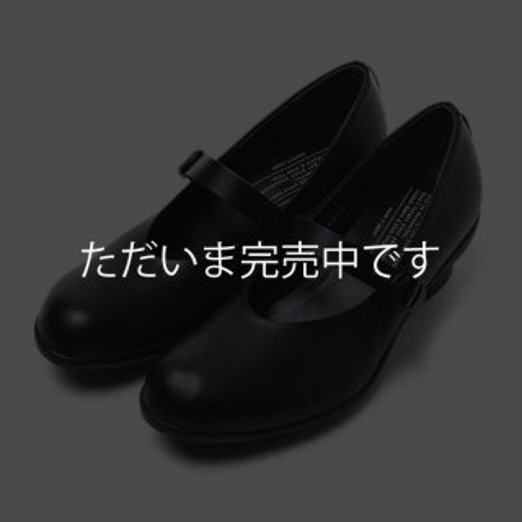 ショセ TR-006-BL ワンストラップシューズ 【カーフ|ブラック】