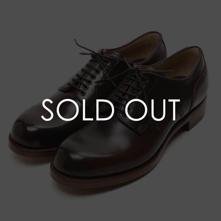 ショセ SU100C-HW-DBR プレーントゥコードバン【ダークブラウン】