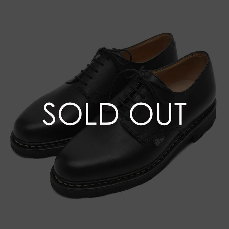 Paraboot (パラブーツ) 703812 ARLES/GRIFF2 NOIRE LISカーフ 【ブラック】