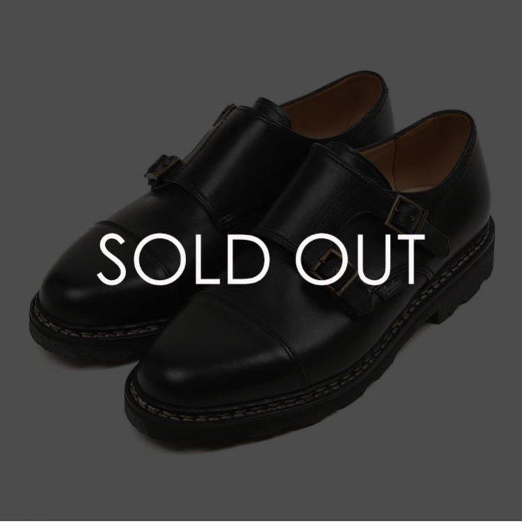 パラブーツ 981412 WILLIAM/MARCHE II NOIRE-LIS NOIR【ブラック】