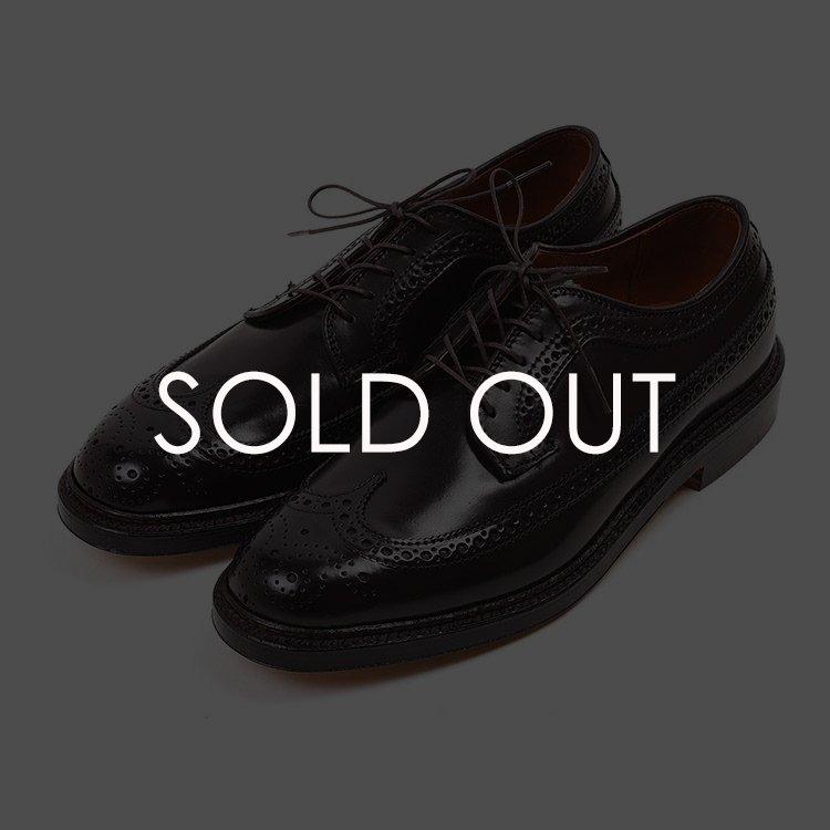 オールデン 975 ロングウイング バリー コードバン 【#8バーガンディー】