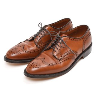 Alden (オールデン) 966 WING TIP アバディーン バーニッシュ 【ダークタン】<img class='new_mark_img2' src='https://img.shop-pro.jp/img/new/icons57.gif' style='border:none;display:inline;margin:0px;padding:0px;width:auto;' />