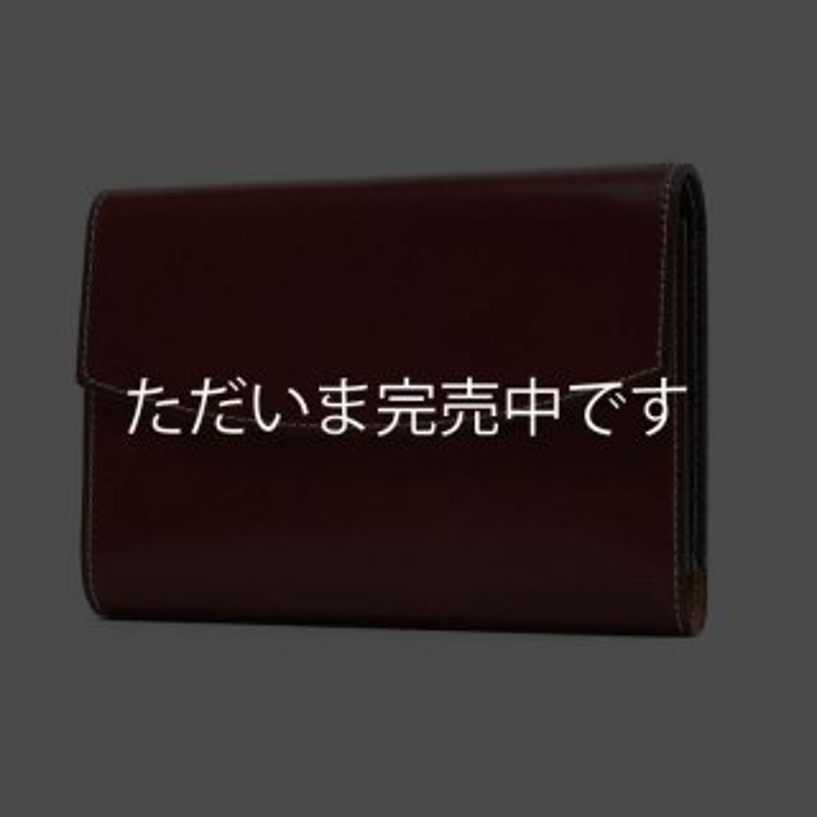 K.T.ルイストン KTW187R ラフコードバン 三つ折財布