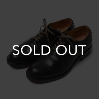 MOTO (モト) 2901 PUNCHED CAP TOE コードバン 【BLACK】<img class='new_mark_img2' src='https://img.shop-pro.jp/img/new/icons57.gif' style='border:none;display:inline;margin:0px;padding:0px;width:auto;' />