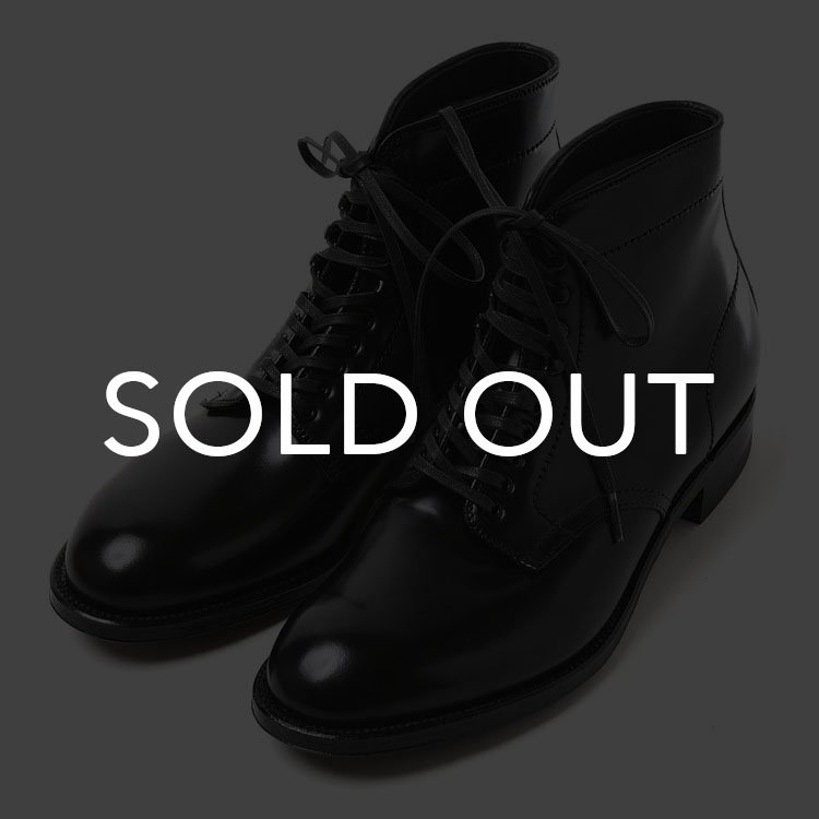 Alden (オールデン) 4562H  P-TOE ブーツ コードバン 【ブラック】<img class='new_mark_img2' src='https://img.shop-pro.jp/img/new/icons57.gif' style='border:none;display:inline;margin:0px;padding:0px;width:auto;' />