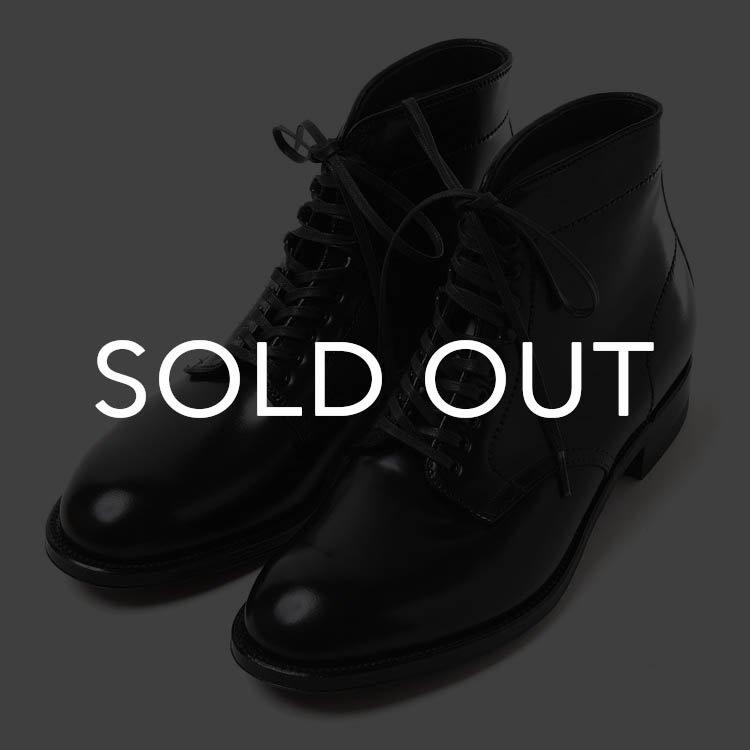 Alden (オールデン) 4562H  P-TOE ブーツ コードバン 【ブラック】