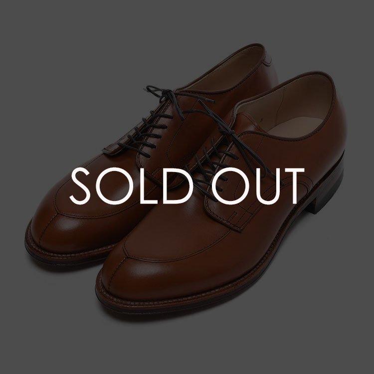 オールデン 54420 当店別注Vチップ バーニッシュカーフ 【ダークタン】