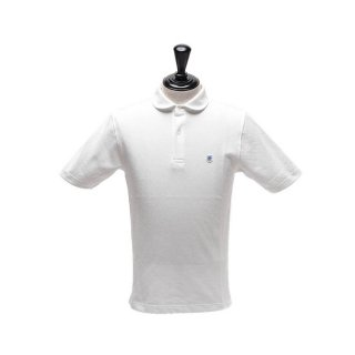 Glacon (グラソン)  Round Collar Polo/メンズ/ホワイト<img class='new_mark_img2' src='https://img.shop-pro.jp/img/new/icons14.gif' style='border:none;display:inline;margin:0px;padding:0px;width:auto;' />