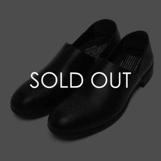ショセ  TR-010 Travel shoes 【防水革】 スリッポン 【黒】 レディース