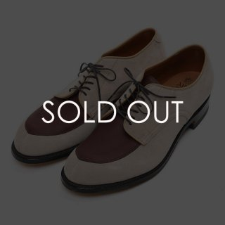 Alden (オールデン) N8608 別注コンビVチップ 【BURGUNDY×MILKSHAKE】<img class='new_mark_img2' src='https://img.shop-pro.jp/img/new/icons14.gif' style='border:none;display:inline;margin:0px;padding:0px;width:auto;' />