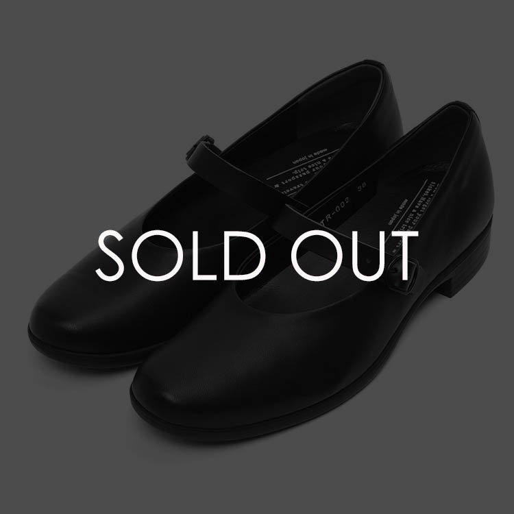 Chausser (ショセ) TR-002 ワンストラップ/トラベルシューズ 【ブラック】