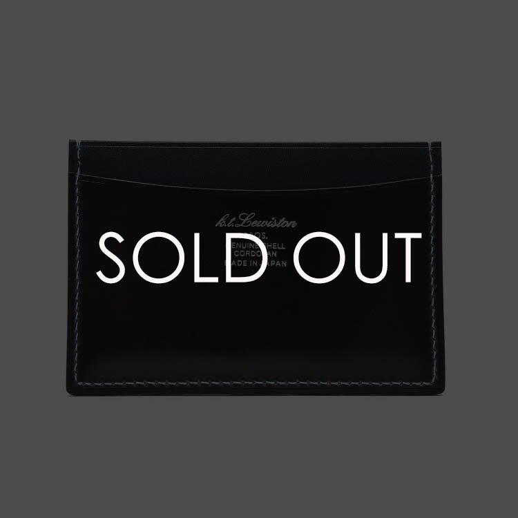 K.T.ルイストン KTW177R コードバン単パスケース 【ダークネイビー】