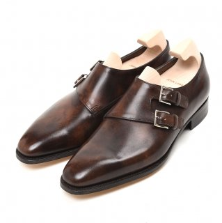 JOHN LOBB (ジョンロブ) CHAPEL 8000 MUSEUM CALF 【DARK BROWN】Eウィズ