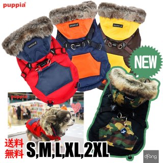 puppia  ハーネス付きジャンパー S/M/L/XL/2XL