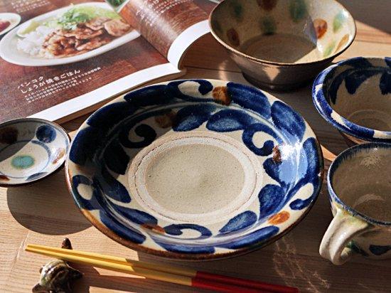 【価格応談可】【最終入荷】七寸皿・コバルト巻唐草