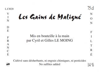 Les Gains de Maligne レ・ゲン・ド・マリーニュ 2018