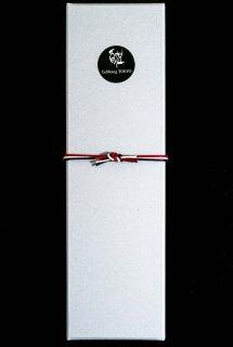 ラッピング(化粧箱+ロゴシール+組紐)