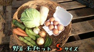 [送料込み]野菜・玉子セット スモールサイズ