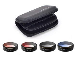 PGY Phantom4 Pro用 レンズフィルター (4枚セット)