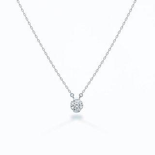ラボ・グロウン ダイヤモンド<br>ネックレス / プラチナ / 0.30カラット
