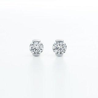 ラボ・グロウン ダイヤモンド<br>ピアス / プラチナ / 0.20カラット×2