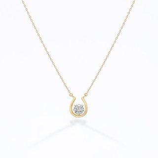 ラボ・グロウン ダイヤモンド<br>ネックレス / ゴールド / 0.20カラット