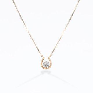 ラボ・グロウン ダイヤモンド<br>ネックレス / ピンクゴールド / 0.20カラット