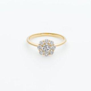 ラボ・グロウン ダイヤモンド<br>リング /  ゴールド / 中石0.20カラット