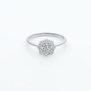 ラボ・グロウン ダイヤモンド<br>リング /  プラチナ / 中石0.20カラット