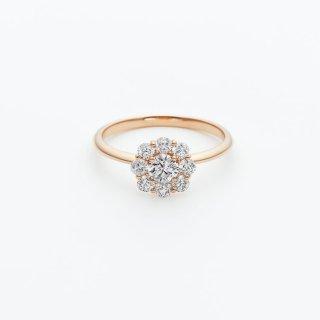 ラボ・グロウン ダイヤモンド<br>リング /  ピンクゴールド / 中石0.30カラット