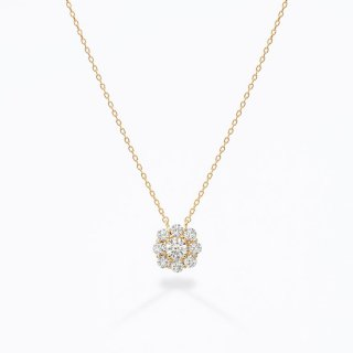 ラボ・グロウン ダイヤモンド<br>ネックレス /  ゴールド / 中石0.30カラット