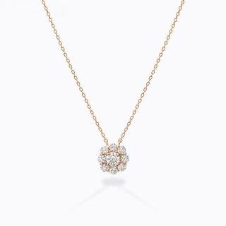 ラボ・グロウン ダイヤモンド<br>ネックレス /  ピンクゴールド / 中石0.30カラット