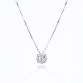 ラボ・グロウン ダイヤモンド<br>ネックレス /  プラチナ / 中石0.30カラット