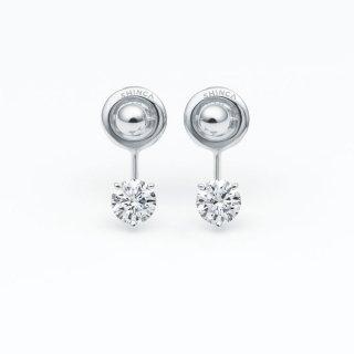 ラボ・グロウン ダイヤモンド<br>ピアス / プラチナ / 0.30カラット×2