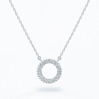 ラボ・グロウン ダイヤモンド<br>ネックレス / プラチナ / total0.18カラット