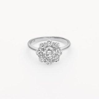 ラボ・グロウン ダイヤモンド<br>リング / プラチナ / 中石 0.50カラット