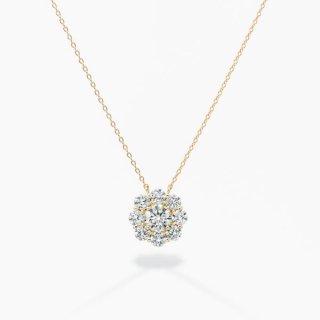 ラボ・グロウン ダイヤモンド<br>ネックレス / ゴールド / 中石 0.50カラット
